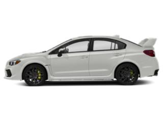 Crystal White Pearl 2019 Subaru WRX Pictures WRX STI Limited Manual w/Wing Spoiler photos side view