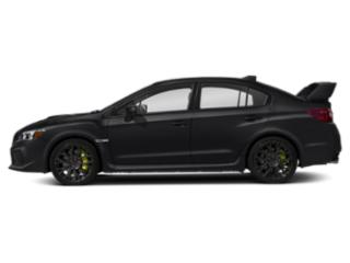 Crystal Black Silica 2019 Subaru WRX Pictures WRX STI Limited Manual w/Wing Spoiler photos side view