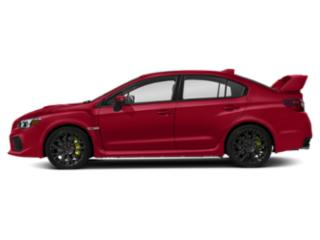 Pure Red 2019 Subaru WRX Pictures WRX STI Limited Manual w/Wing Spoiler photos side view