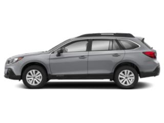 Ice Silver Metallic 2019 Subaru Outback Pictures Outback 2.5i photos side view