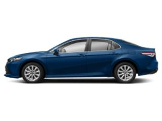 Blue Streak Metallic 2019 Toyota Camry Pictures Camry LE Auto photos side view