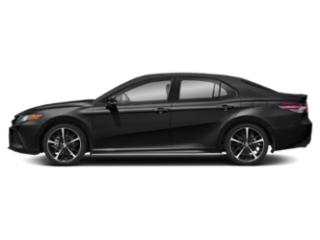 Midnight Black Metallic 2019 Toyota Camry Pictures Camry XSE Auto photos side view