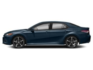 Galactic Aqua Mica 2019 Toyota Camry Pictures Camry XSE Auto photos side view