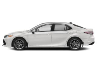 Super White 2019 Toyota Camry Pictures Camry XLE V6 Auto photos side view