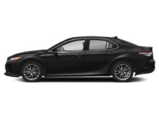 Midnight Black Metallic 2019 Toyota Camry Pictures Camry XLE Auto photos side view