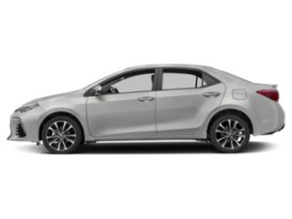 Classic Silver Metallic 2019 Toyota Corolla Pictures Corolla XSE CVT photos side view