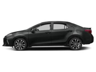 Black Sand Pearl 2019 Toyota Corolla Pictures Corolla XSE CVT photos side view