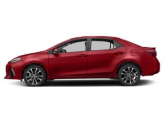 Barcelona Red Metallic 2019 Toyota Corolla Pictures Corolla XSE CVT photos side view