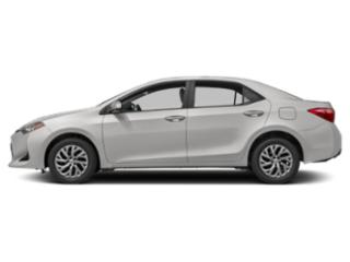 Super White 2019 Toyota Corolla Pictures Corolla LE CVT photos side view