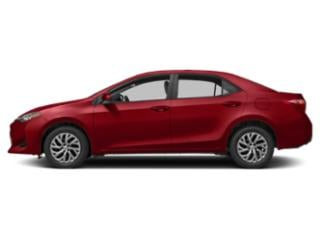 Barcelona Red Metallic 2019 Toyota Corolla Pictures Corolla LE CVT photos side view