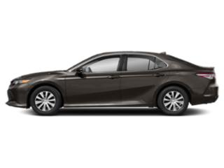 Brownstone 2019 Toyota Camry Pictures Camry Hybrid LE CVT photos side view
