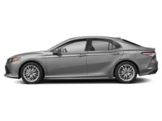 Celestial Silver Metallic 2019 Toyota Camry Pictures Camry Hybrid XLE CVT photos side view