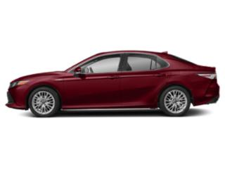 Ruby Flare Pearl 2019 Toyota Camry Pictures Camry Hybrid XLE CVT photos side view