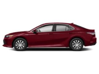 Ruby Flare Pearl 2019 Toyota Camry Pictures Camry Hybrid LE CVT photos side view