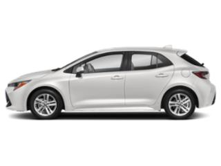Super White 2019 Toyota Corolla Hatchback Pictures Corolla Hatchback SE CVT photos side view