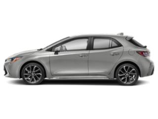 Classic Silver Metallic 2019 Toyota Corolla Hatchback Pictures Corolla Hatchback SE Manual photos side view