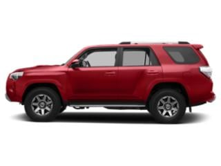Barcelona Red Metallic 2019 Toyota 4Runner Pictures 4Runner TRD Off Road 4WD photos side view