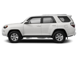 Super White 2019 Toyota 4Runner Pictures 4Runner SR5 2WD photos side view
