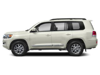 Blizzard Pearl 2019 Toyota Land Cruiser Pictures Land Cruiser 4WD photos side view