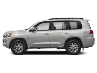 Classic Silver Metallic 2019 Toyota Land Cruiser Pictures Land Cruiser 4WD photos side view