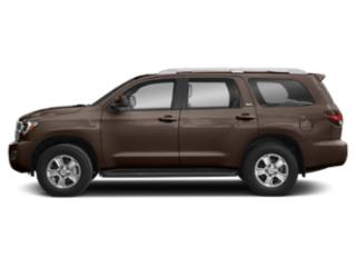 Toasted Walnut Pearl 2019 Toyota Sequoia Pictures Sequoia Platinum 4WD photos side view