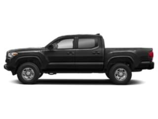 Midnight Black Metallic 2019 Toyota Tacoma 2WD Pictures Tacoma 2WD SR Double Cab 5' Bed I4 AT photos side view