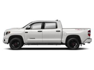 Super White 2019 Toyota Tundra 4WD Pictures Tundra 4WD TRD Pro CrewMax 5.5' Bed 5.7L photos side view