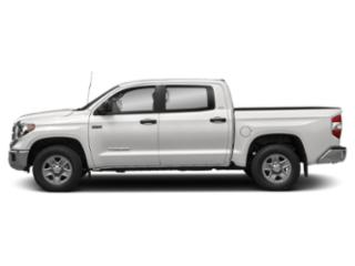 Super White 2019 Toyota Tundra 4WD Pictures Tundra 4WD SR5 CrewMax 5.5' Bed 5.7L FFV photos side view