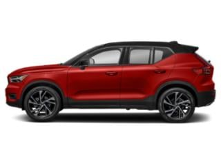 Fusion Red Metallic 2019 Volvo XC40 Pictures XC40 T4 FWD R-Design photos side view