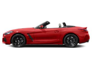 San Francisco Red Metallic 2020 BMW Z4 Pictures Z4 sDrive30i Roadster photos side view