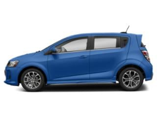 Kinetic Blue Metallic 2020 Chevrolet Sonic Pictures Sonic 5dr HB Premier photos side view