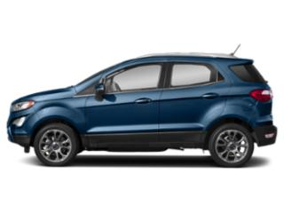 Lightning Blue Metallic 2020 Ford EcoSport Pictures EcoSport S FWD photos side view