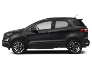 Shadow Black 2020 Ford EcoSport Pictures EcoSport S FWD photos side view