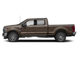 Stone Gray Metallic 2020 Ford Super Duty F-250 SRW Pictures Super Duty F-250 SRW King Ranch 2WD Crew Cab 6.75' Box photos side view