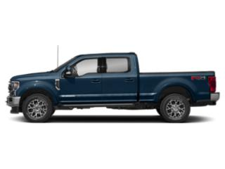 Blue Jeans Metallic 2020 Ford Super Duty F-250 SRW Pictures Super Duty F-250 SRW King Ranch 2WD Crew Cab 6.75' Box photos side view