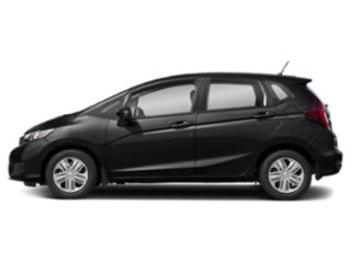 Crystal Black Pearl 2020 Honda Fit Pictures Fit LX CVT photos side view