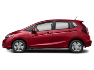 Milano Red 2020 Honda Fit Pictures Fit LX CVT photos side view
