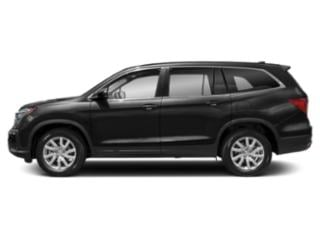 Crystal Black Pearl 2020 Honda Pilot Pictures Pilot LX 2WD photos side view