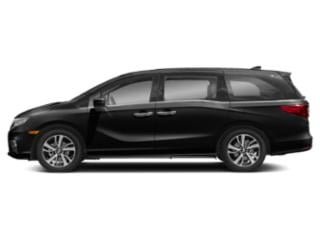 Crystal Black Pearl 2020 Honda Odyssey Pictures Odyssey Elite Auto photos side view