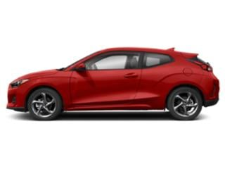 Racing Red 2020 Hyundai Veloster Pictures Veloster 2.0 Auto photos side view