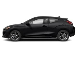 Ultra Black 2020 Hyundai Veloster Pictures Veloster 2.0 Auto photos side view