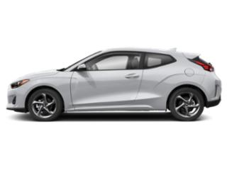 Chalk White 2020 Hyundai Veloster Pictures Veloster 2.0 Auto photos side view