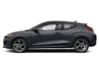 Thunder Gray 2020 Hyundai Veloster Pictures Veloster 2.0 Auto photos side view