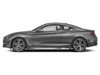 Graphite Shadow 2020 INFINITI Q60 Pictures Q60 3.0t LUXE AWD photos side view