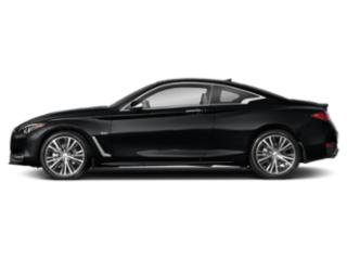 Midnight Black 2020 INFINITI Q60 Pictures Q60 3.0t LUXE AWD photos side view