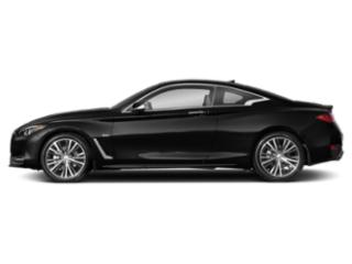 Black Obsidian 2020 INFINITI Q60 Pictures Q60 3.0t LUXE AWD photos side view