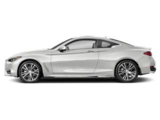 Pure White 2020 INFINITI Q60 Pictures Q60 3.0t LUXE AWD photos side view