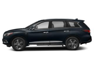Hermosa Blue 2020 INFINITI QX60 Pictures QX60 LUXE AWD photos side view
