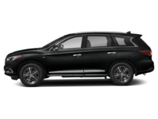 Imperial Black 2020 INFINITI QX60 Pictures QX60 LUXE AWD photos side view
