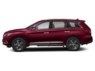 Deep Bordeaux 2020 INFINITI QX60 Pictures QX60 LUXE AWD photos side view